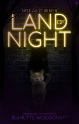 Land of Night- Book Cover by sandypawsteps