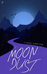 Moon Dust - Book Cover by sandypawsteps