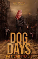 Dog Days - Book Cover by sandypawsteps
