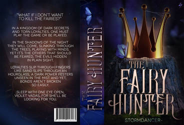 The Fairy Hunter Book Jacket by sandypawsteps