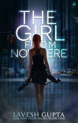 The Girl From Nowhere - Book Cover by sandypawsteps