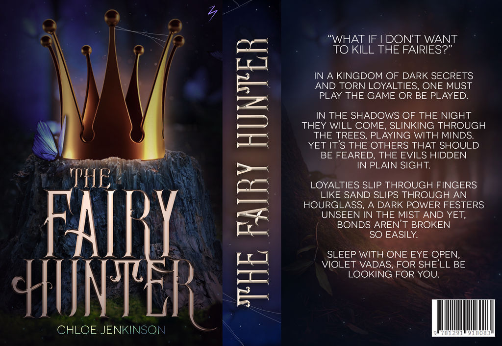 The Fairy Hunter - Book Jacket by sandypawsteps