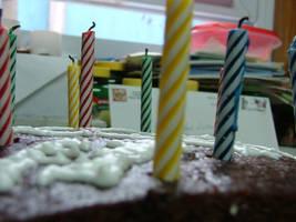 Birthday cake by TheCosplayVlogger