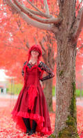 Ballgown Grell Fall Shoot 2 by TheCosplayVlogger