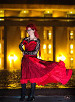 Ballgown Grell Fall Shoot 12 by TheCosplayVlogger