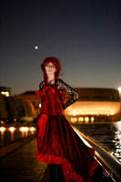 Ballgown Grell Fall Shoot 14 by TheCosplayVlogger
