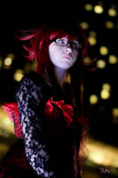 Ballgown Grell Fall Shoot 18 by TheCosplayVlogger