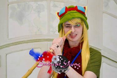 Teemo at Famicon - Nose darts! by TheCosplayVlogger