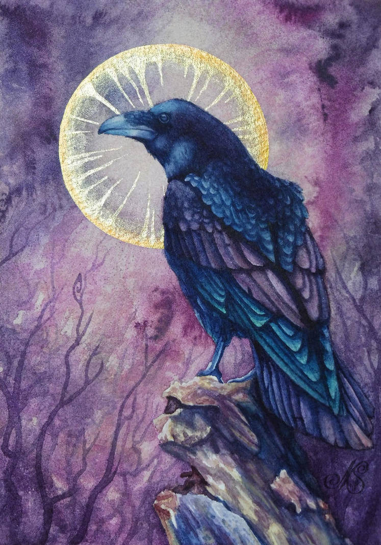 Raven by FallenFantasyArt