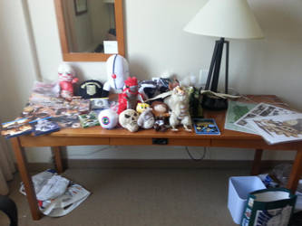 All the Animenorth Stuff by QueenGrimm