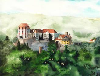 Chateau Vranov by SarkaSkorpikova