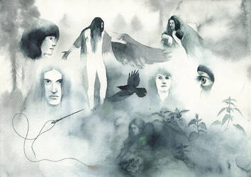 Ravens by SarkaSkorpikova