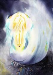 Eru Iluvatar (and the Ainur) by SarkaSkorpikova