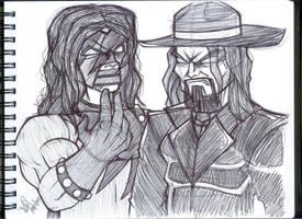 Brothers of Destruction by emceelokey