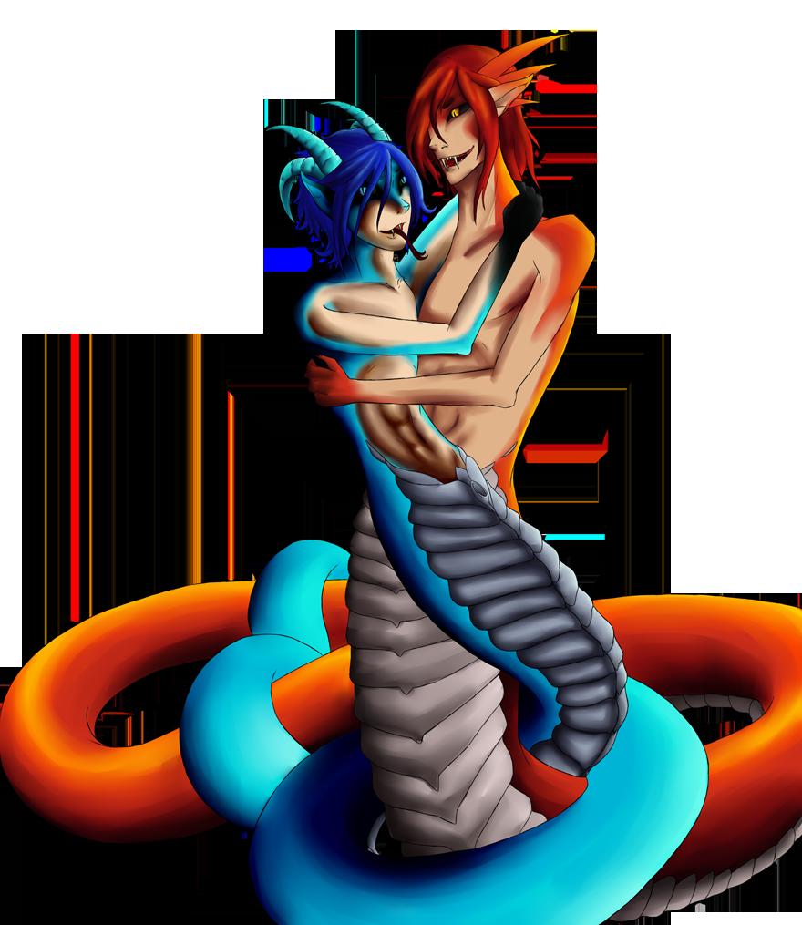 Naga Lovin by SepiSnake