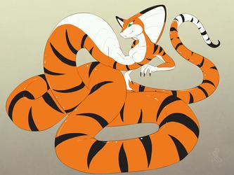 Commission: Naga Ida by SepiSnake