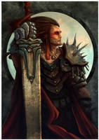 Warrior by dominuself