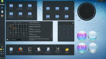 My KDE setup on openSUSE by YaseenNoorani