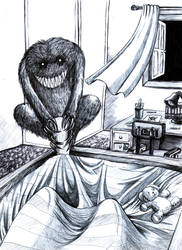Kid's nightmare by ChrisGRepresa