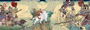 Okami  Amaterasu's Journey by eiferet