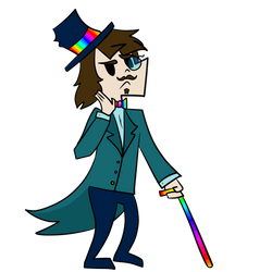 Gay Gentleman Dimitrius by TrappedInABucket