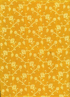 Yellow saree pattern II by LaTaupinette