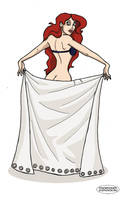 Ariel Pin-up by LaTaupinette