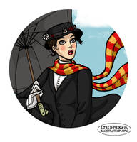 Mary Poppins by LaTaupinette