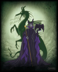 Maleficent by LaTaupinette