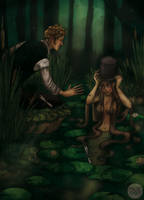 The Swamp Snake by LaTaupinette