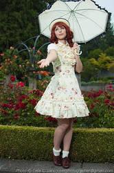 Rain Drops in the Garden by OppositeCosplay