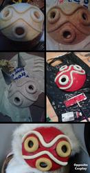 Princess Mononoke Mask Tutorial by OppositeCosplay