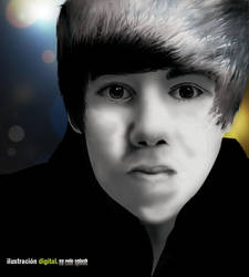 Justin Bieber by Felo Splash by poneme10
