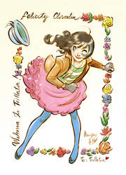 Miss Felicity Cloverlin 2 by MaripazVillar
