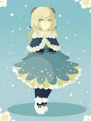 Snow Riri by ReshiraDragon