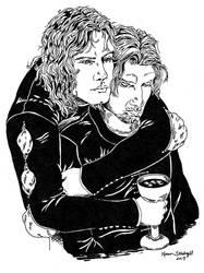 Vlad and Miklos by Tepelus