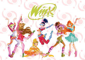 Winx Club Dance Team by WinxClubFanArt