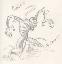 Carnage Sketch by wis13