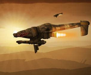 Returning To Base by BlastWaves