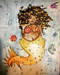 Mermaid blegh by Syico