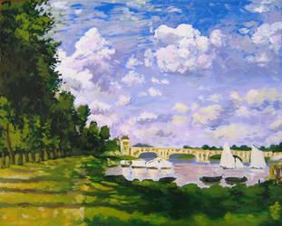 Impressionism Study by KingVahagn
