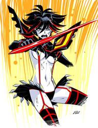 KLK Ryuko Quickie by Inkermoy