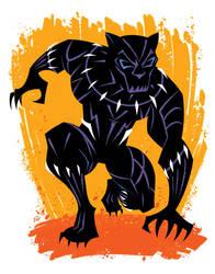 Black Panther Jack-Style by Inkermoy