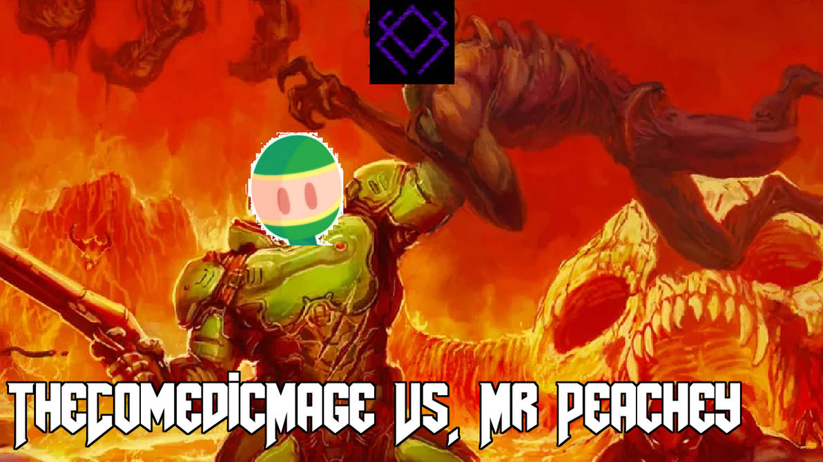 The Comedic Mage Vs MrPeachey by IndieAnjelo