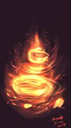 Fire works by k3nn3thcute