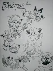 Pokemon by kittyocat