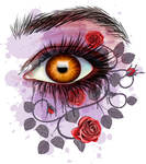 Floral eye by 8LouLou8
