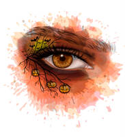 Realistic Brown Eye by 8LouLou8