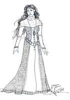 Game Of Thrones- Lyanna Stark by CinsAngel