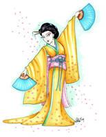 Cherry Blossom Maiden by CinsAngel